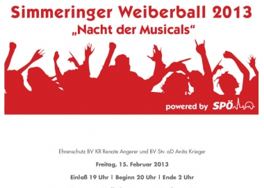 Weiberball 2013
